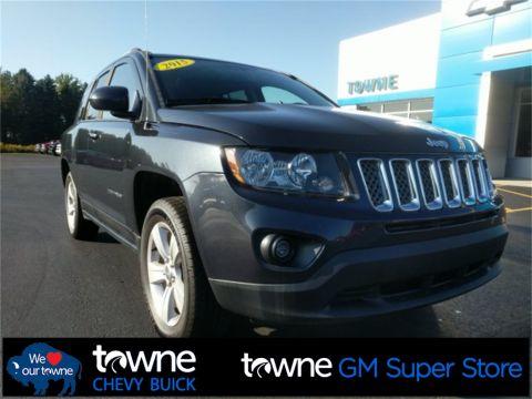 Pre-Owned 2015 Jeep Compass Latitude 4WD 4D Sport Utility