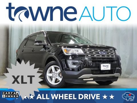Pre-Owned 2017 Ford Explorer XLT 4WD 4D Sport Utility