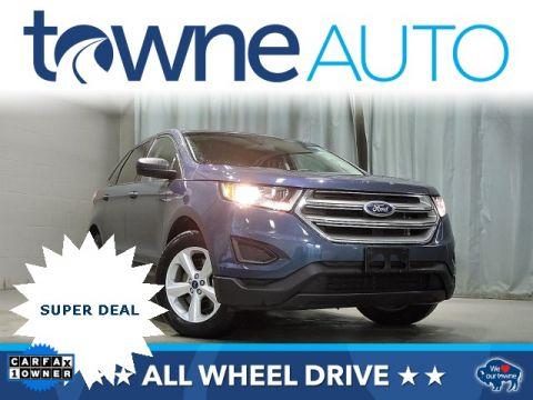 Pre-Owned 2016 Ford Edge SE AWD 4D Sport Utility