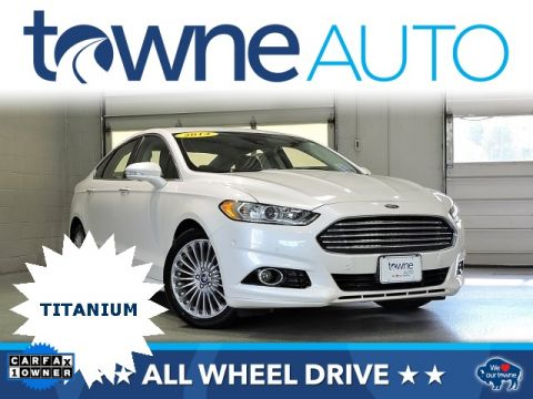 Pre-Owned 2014 Ford Fusion Titanium AWD 4D Sedan