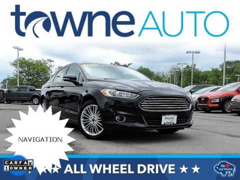 Pre-Owned 2016 Ford Fusion SE AWD 4D Sedan