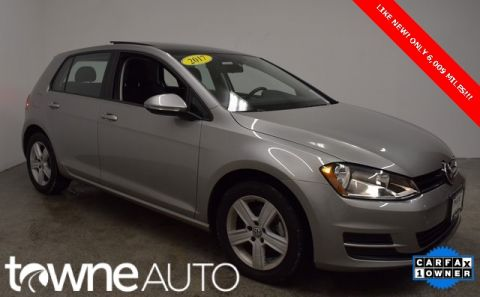 Pre-Owned 2017 Volkswagen Golf Wolfsburg FWD 4D Hatchback