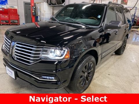 Pre-Owned 2017 Lincoln Navigator Select 4WD 4D Sport Utility