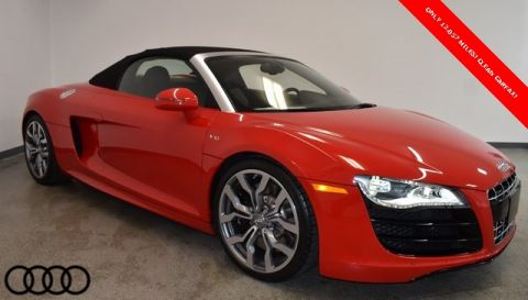 Pre-Owned 2011 Audi R8 5.2 quattro 2D Convertible
