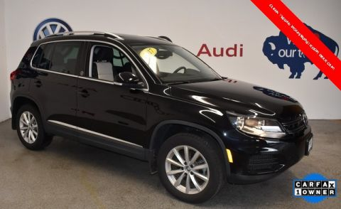 Pre-Owned 2017 Volkswagen Tiguan Wolfsburg AWD 4D Sport Utility